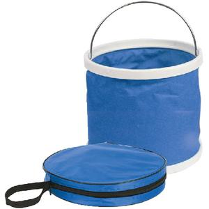 Camco 42993 COLLAPSIBLE BUCKET / COLLAPSIBLE BUCKET BLUE&WHITE