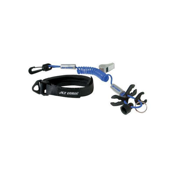 KWIK TEK UL3 Safety Lanyard Blue and Silver